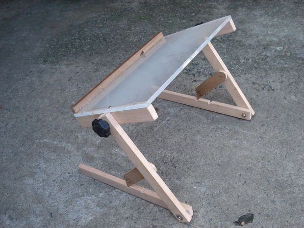 Picture of Laptop stand for bed - my design