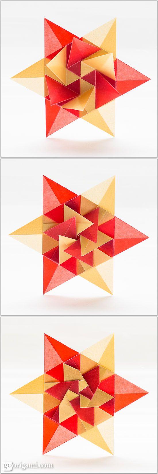 Parati Prata Star by Carla Onishi de Godoy   Go Origami!