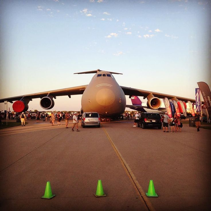 Can you guess how many Volkswagen's you can fit in a C-5 Galaxy Transport…