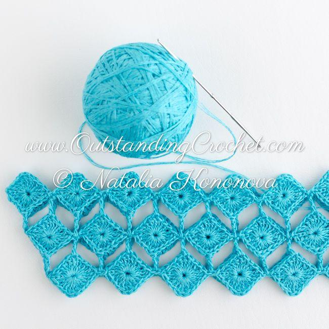 Outstanding Crochet: New crochet patern in work - off shoulder seamless top.
