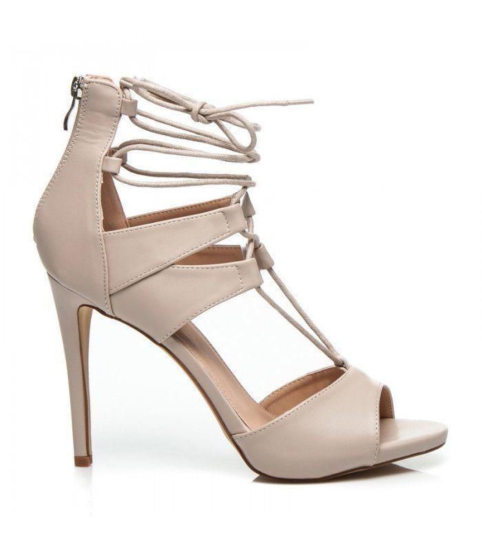 Sexy viazané sandále 628-122BE