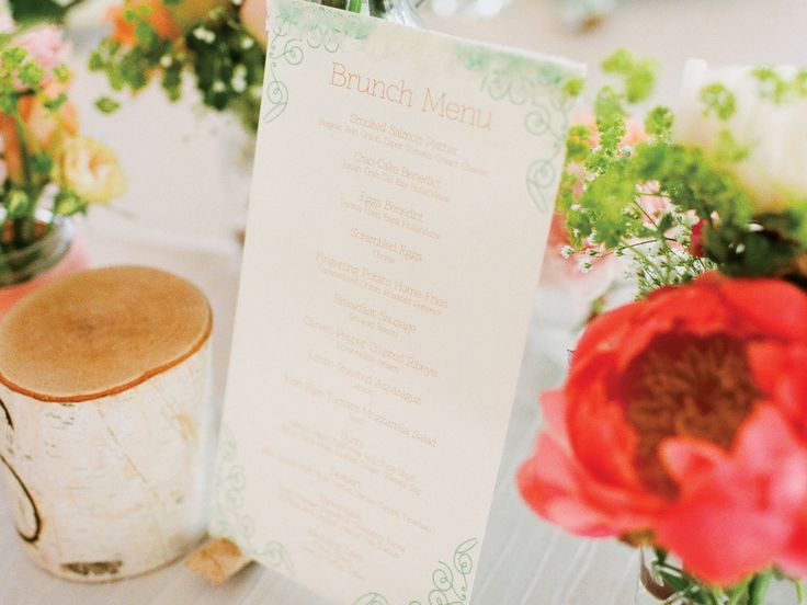 our favorite day after wedding brunch invitations