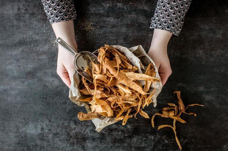 Pastinaken-Chips mit Dukkah - Rezepte | fooby.ch