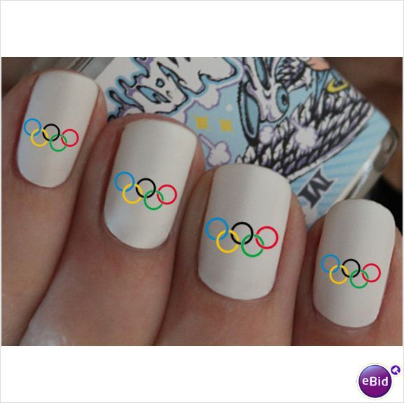 Have a seat at the Olympics... I'm sorry...but these are obviously edited.. There is no way she could make perfect circles..