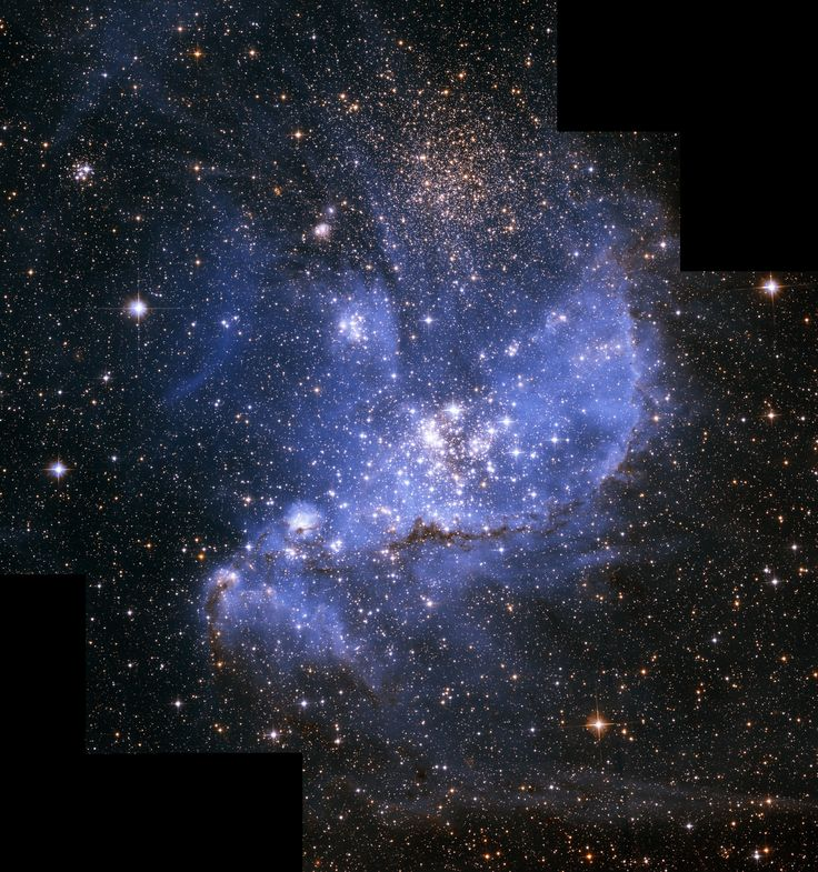 Hubbles Exquisite View of a Stellar Nursery