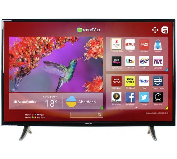 Buy Hitachi 32 Inch Freeview Play LED Smart TV / DVD Combi at Argos.co.uk, visit Argos.co.uk to shop online for Televisions, Televisions and accessories, Technology