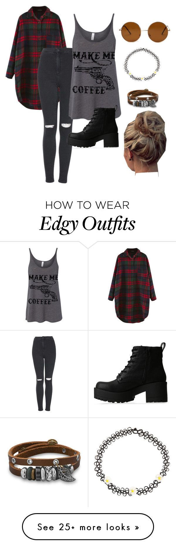 """Boho+Grunge Mix"" by trinj3 on Polyvore featuring Topshop, Lipstik, Forever 21, Monsoon, BillyTheTree, women's clothing, women, female, woman and misses"