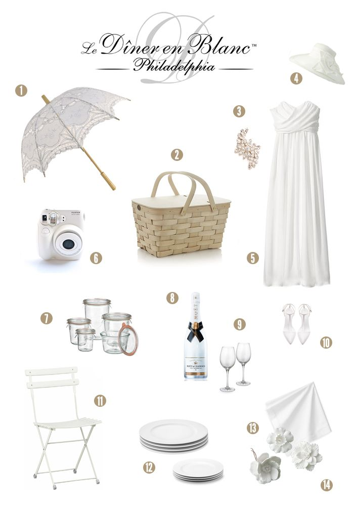 The countdown to Dîner En Blanc Philadelphia has begun…less than 3 weeks to go! If you're planning to attend the magical affair, I hope you will enjoy thislittle bit of inspirat…