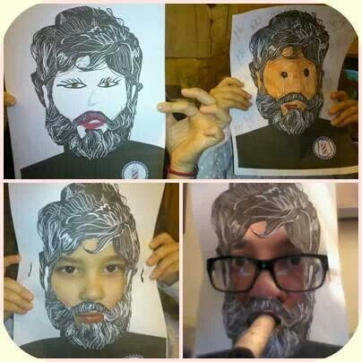 Los López se dejan barba. Yo también soy Char~Lee Mito