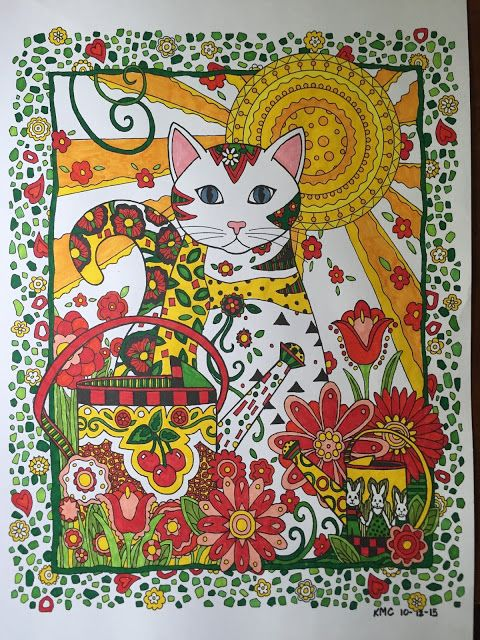 Creative Haven Creative Cats Coloring Book Pdf
