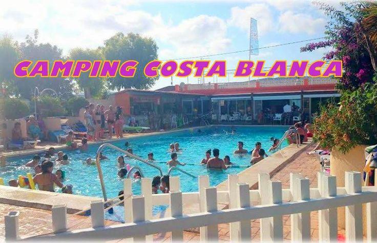 Una postal de la piscina ha salido del baul de los recuerdos. Y es que todo sigue igual... La misma paz, ambiente y armonía que solo te damos en un camping: El Costa Blanca.. Tu reencuentro con el mediterraneo!