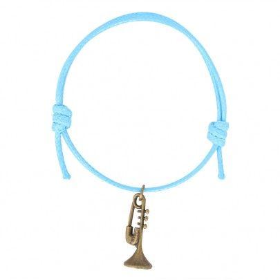 New Musical Cotton Bracelet - Trumpet 2 Sky Blue from Pentatonic Music - Rp 28.000