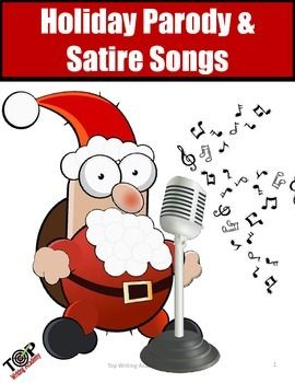 how to write a christmas song parody