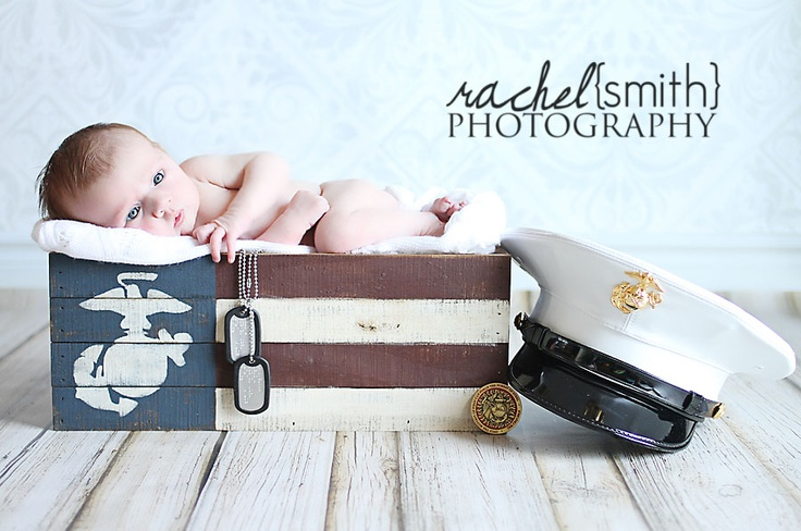 Military Newborn Marine Corps www.rachelsmithphotography.net, newborn photography, newborn poses, Jacksonville, NC newborn photography, Rachel Smith Photography