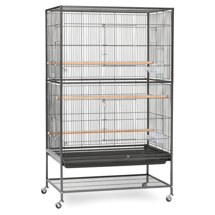 Prevue Pet Products Wrought Iron Flight Cage-Large F040 - F040