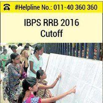 IBPS RRB 2016 Cutoff