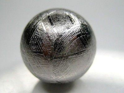 GIBEON IRON METEORITE SPHERE 12mm - 7 grams (solid)