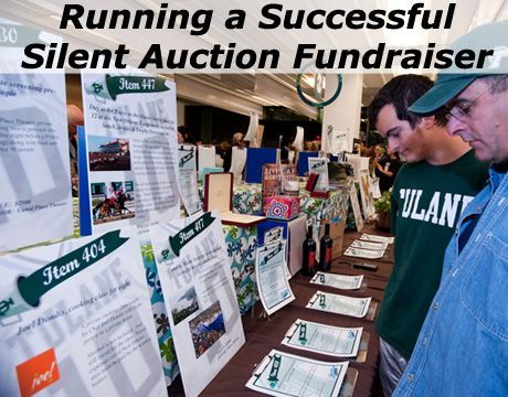 Want to learn how to run a profitable and successful Silent Auction Fundraiser?!? Step by step: www.rewarding-fundraising-ideas.com/silent-auction-fundraiser.html (Photo by Tulane Public Relations / Flickr)