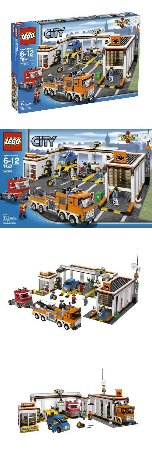 LEGO City Garage (7642), Pieces: 953. Time for a tune-up at the LEGO City garage, here's always something going on at the big city garage. When the call for help comes in, the heavy-duty tow truck is ready to haul any car or ..., #Toys, #Building Sets