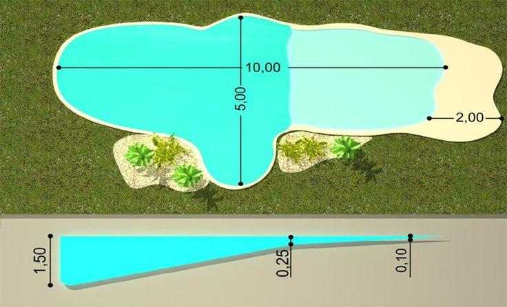 97 mejores im genes sobre albercas y jardines en pinterest for Planos de piscinas semiolimpicas