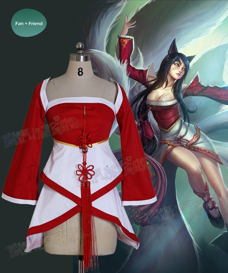 fanplusfriend - League of Legends Cosplay Ahri (The Nine-Tailed Fox) Costume Set, $150.00 (http://fan-store.net/league-of-legends-cosplay-ahri-the-nine-tailed-fox-costume-set)