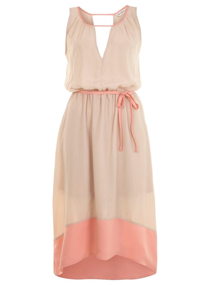 Nude Color Block Dress: Summer Dresses, Fashion, Spring Dresses, Blocks Dresses, Bridesmaid Dresses, Colorblock, Miss Selfridge, Nude Colors, Colors Blocks