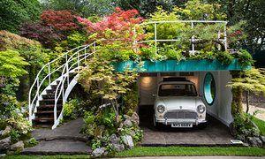 The Senri-Sentei - Garage Garden designed by Kazuyuki Ishihara.