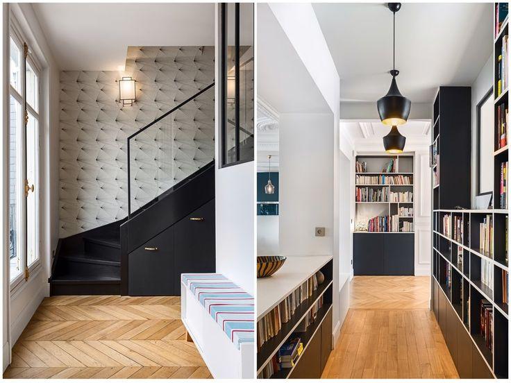 71 best Papier peint • Escalier images on Pinterest | Paint, Wall ...