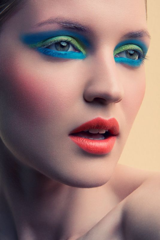 Jeff Tse Captures Bright Summer Beauty Makeup artist Patrick Eichler