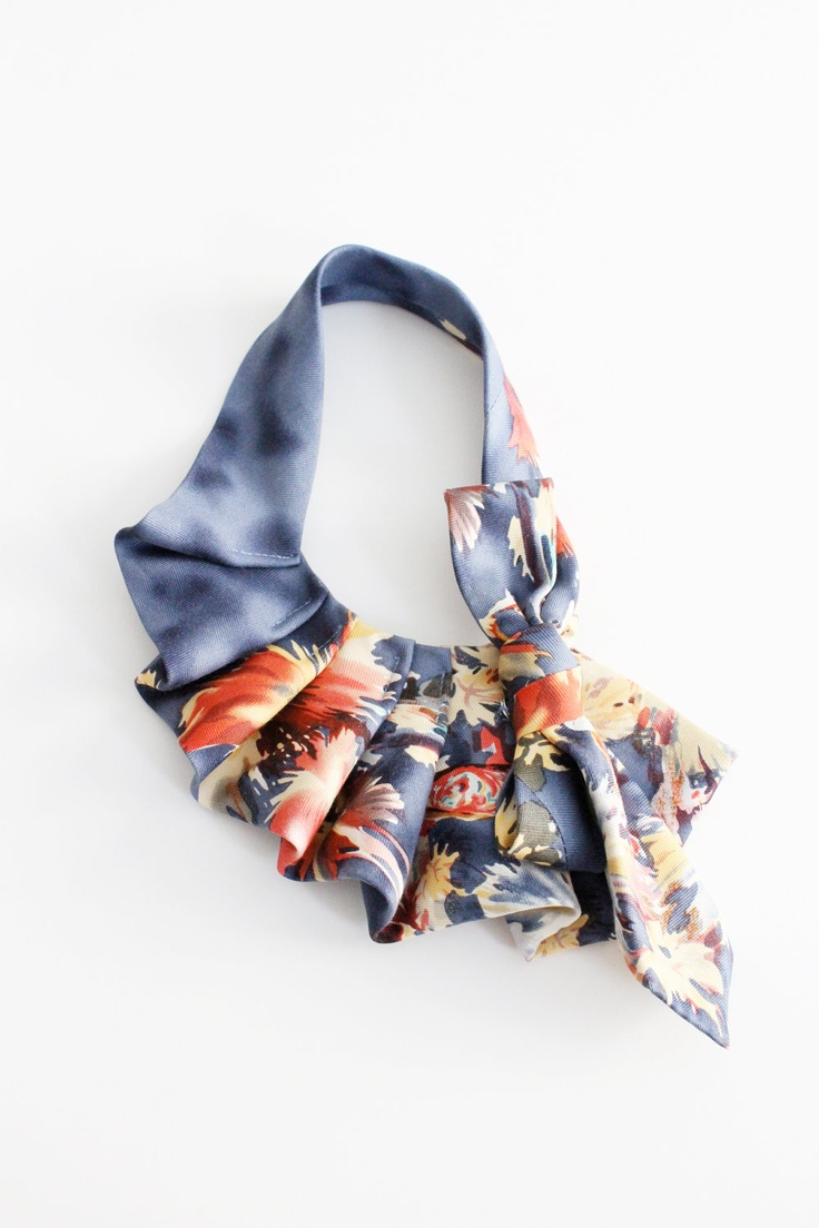 Lilian Asterfield upcycled necktie
