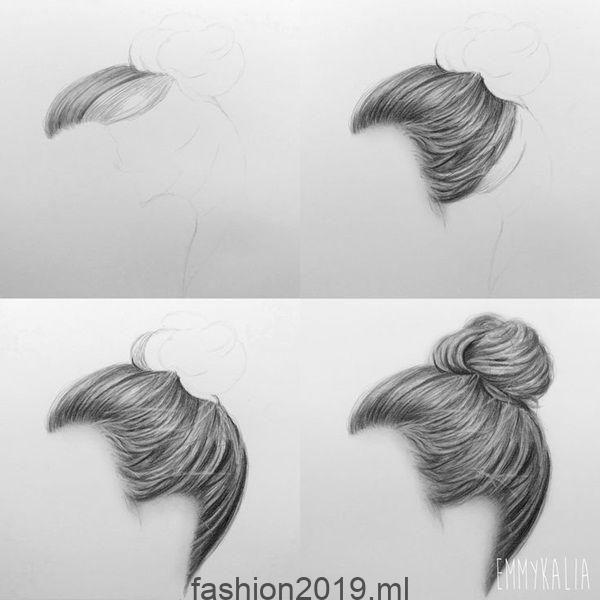 Wie Zeichnet Man Haare Schritt Für Schritt Bildanleitungen