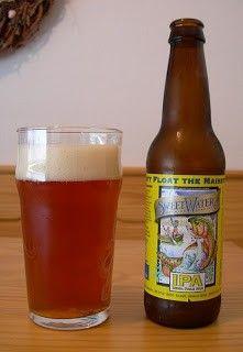 Cerveja Sweetwater IPA, estilo India Pale Ale (IPA), produzida por Sweetwater Brewing, Estados Unidos. 6.3% ABV de álcool.