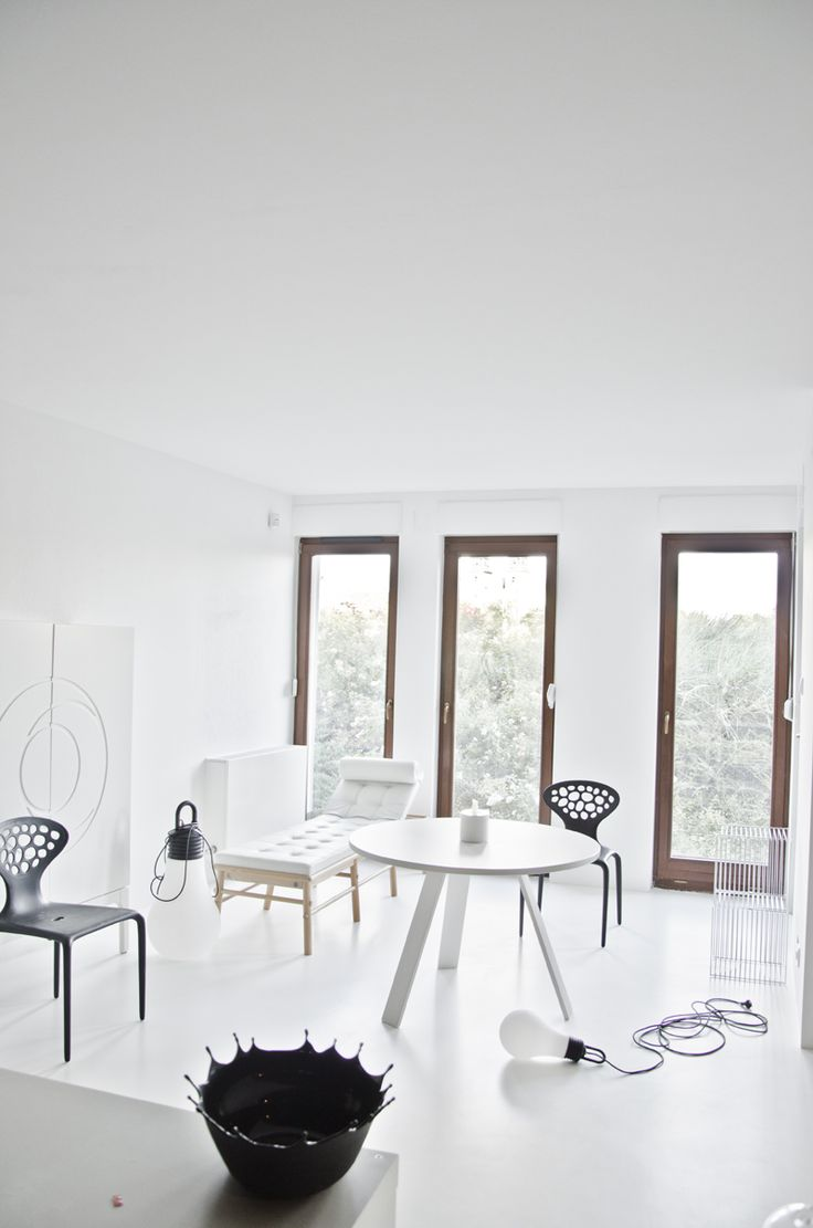 #KOLAB _DOMO designed KASIA ORWAT home design \ #black & #white