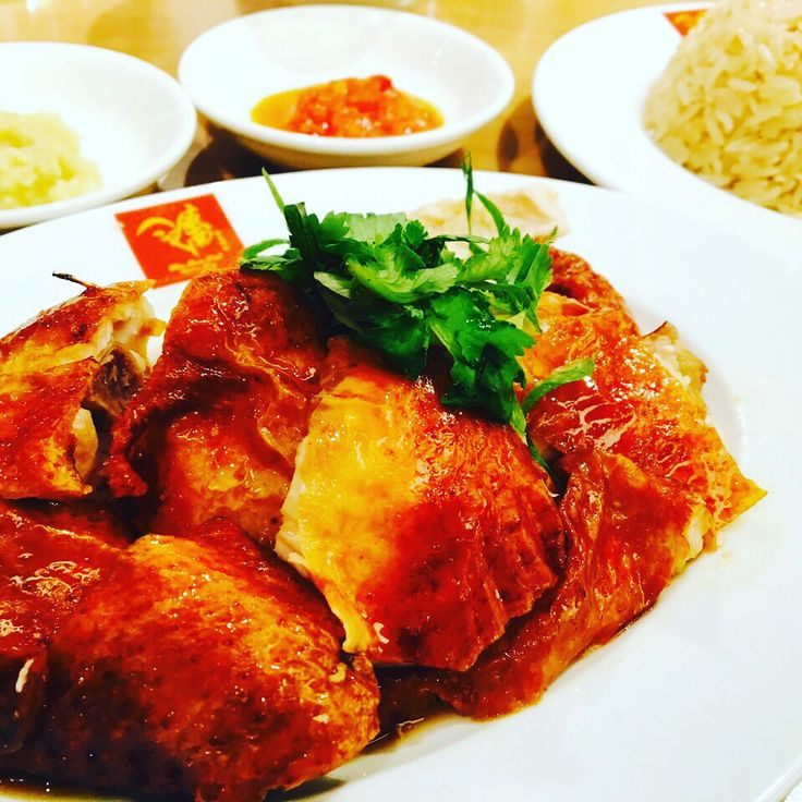 Loasted Chicken Rice