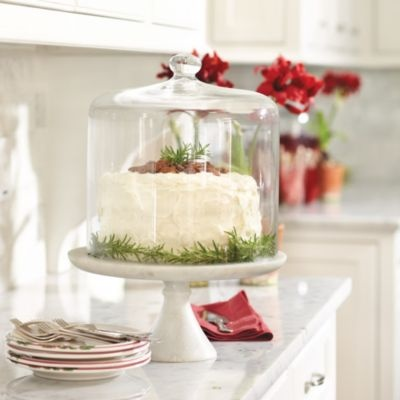 Marble Cake Plate | European-Inspired Home Furnishings | Ballard Designs
