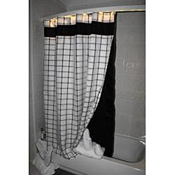 @Overstock - Modernize your bathroom with this lighted shower curtain rod. Bowed for additional shower space, this shower curtain rod can be used as a nightlight and is compatible with your existing shower decor.http://www.overstock.com/Bedding-Bath/Ultimate-Shower-Rod-with-White-Light-Bar/6542725/product.html?CID=214117 $194.99