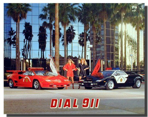 If you want to make a big impact in your living room, or kid's bedroom? Add this wonderful Lamborghini and women's cop's car art print poster. It is a quick and easy way to completely transform any room. This poster delivers a sharp vivid image with a high degree of color accuracy which ensures long lasting beauty of the product. Order today and enjoy your surroundings.