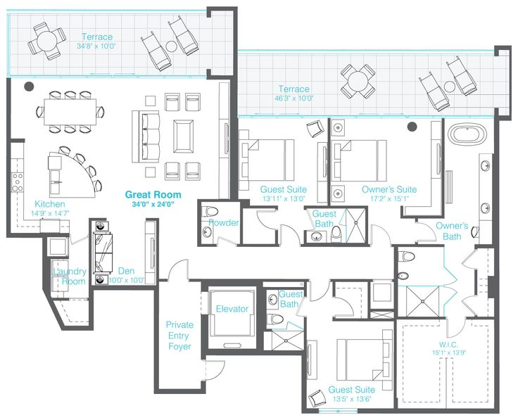 670 Best Images About Floor Plans On Pinterest House