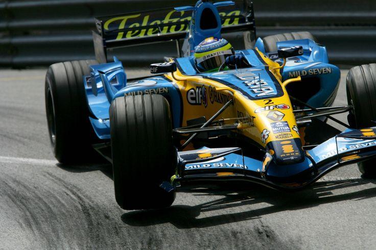 2006 Monaco Grand Prix Renault R26 Giancarlo Fisichella