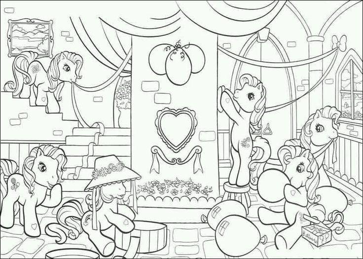 pin von peggy proost auf my little pony  ausmalbilder kinder