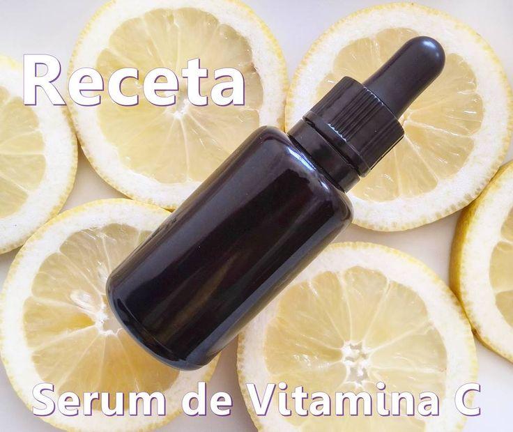 ¿Cómo hacer Serum antiarrugas y antimanchas de Vitamina C casero? Receta para elaborar Serum de Vitamina C en casa. Combate las manchas y arrugas con tu propio serum casero de vitamina C.