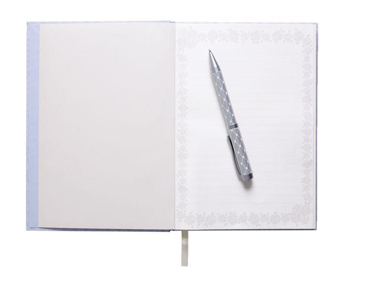 Notebook A5 slim 192p lilac