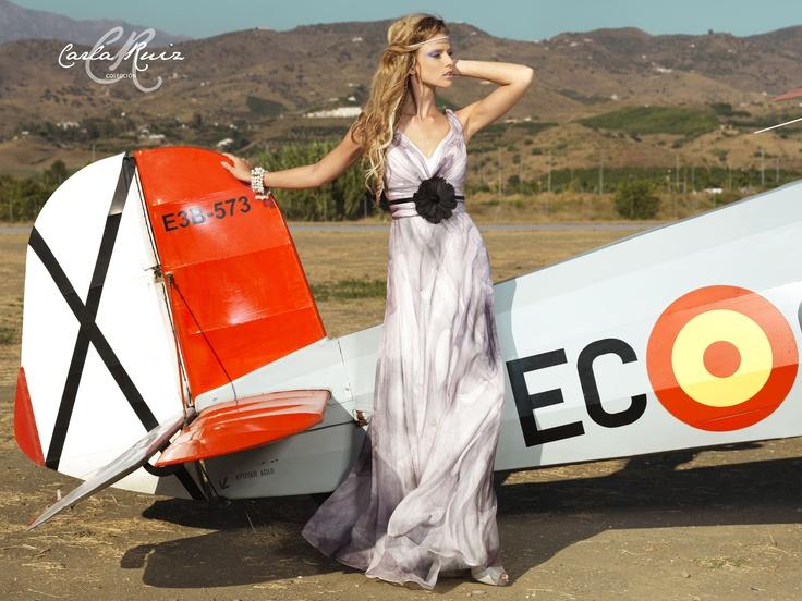 Vestido de Fiesta de Carla Ruiz 2012 - Modelo 86110