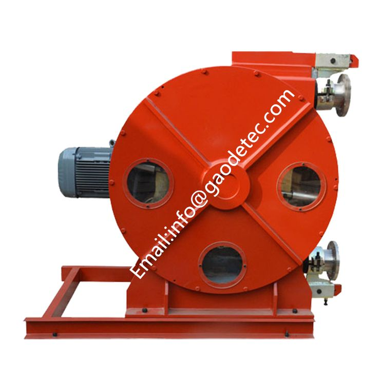 construction machine industrial rubber peristaltic pump for filter press