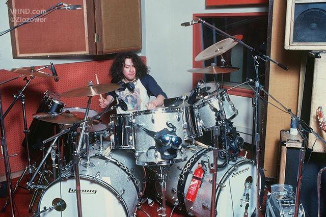 Alex Van Halen's Ludwig drumkit, circa VH II recording