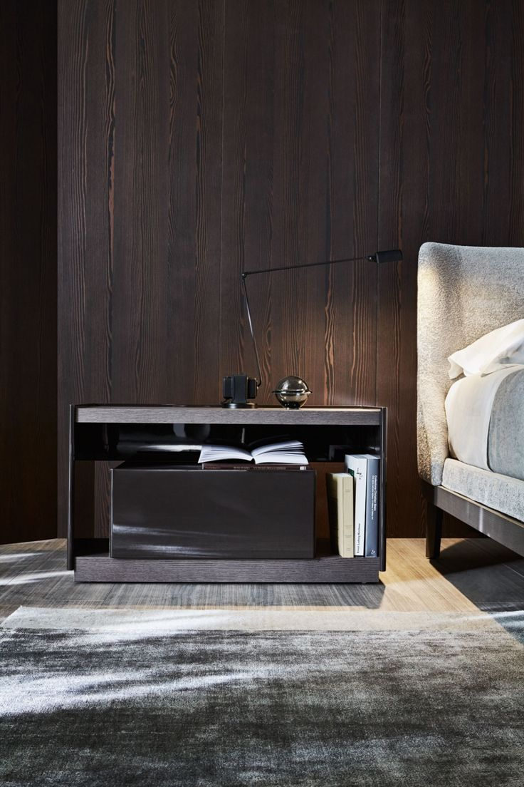 The Wealth Of Materials Used And A Rigorous Design Are The Elements That  Characterize A Collection Of Bedroom Furniture Designed By Rodolfo Dordoni.