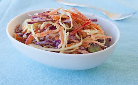 Salade de chou cari et mangue Épicure
