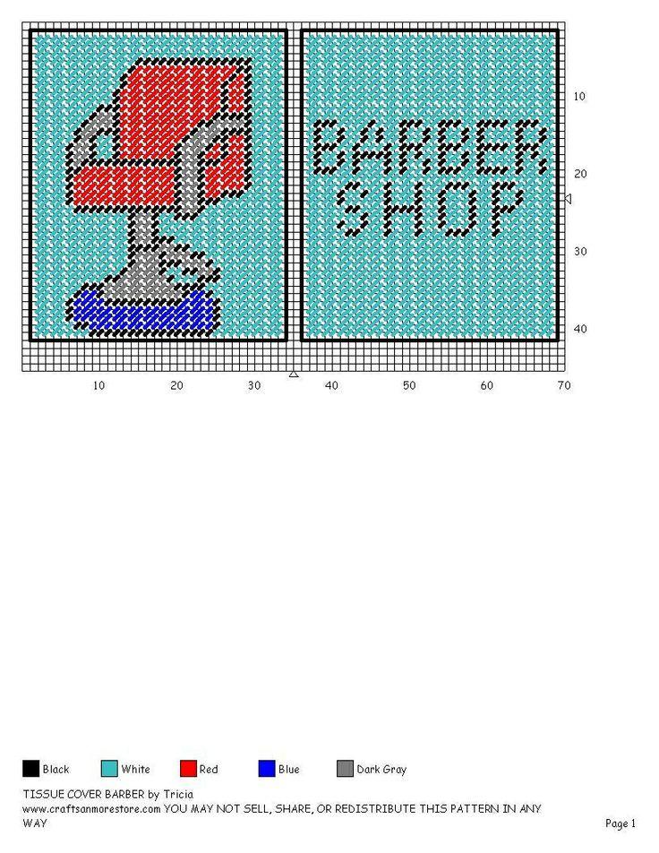 BARBER SHOP TISSUE COVER PART 2