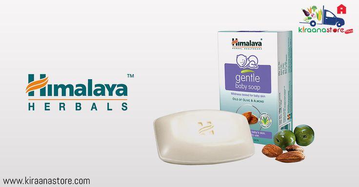 #Himalaya Gentle #Baby #Soap Online in Delhi-NCR from Kiraanastore.com. Great offers all #grocery products for Quick & Safe Delivery, Free Shipping or Pay on Delivery.