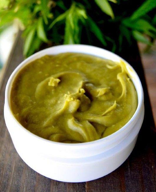 Recept na konopnou/bylinnou mast